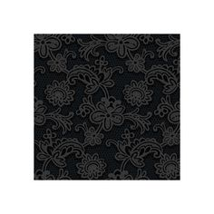 Sample of Modern Lace Wallpaper in Black and Grey design by Candice... (3.019 KWD) ❤ liked on Polyvore featuring home, home decor, wallpaper, gray wallpaper, grey home decor, york wallcoverings, black modern wallpaper and black home decor