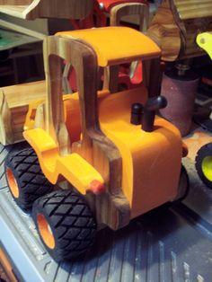 Handmade Wooden Toy, Hi-Loader, Front Loader, Front End Loader, Tractor, Toys, Wooden Toy, #odinstoyfactoy #handmade #handcrafted #woodentoys #toys #tallahassee #florida #loader #highloader #frontloader #tractor