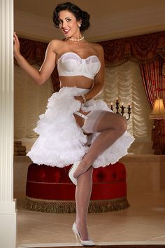 Think, Brides stocking tops exposed consider, that
