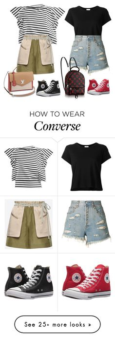 """Heaven"" by audrey-balt on Polyvore featuring RE/DONE, Junya Watanabe, Valentino, Gucci and Converse Winter Outfits Women, Casual Winter Outfits, Cute Summer Outfits, Casual Dress Outfits, Winter Fashion Outfits, Chic Outfits, Outfits With Converse, Converse Fashion, Converse Style"