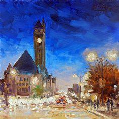 Union Station Market Street Saint Louis by Irek Szelag