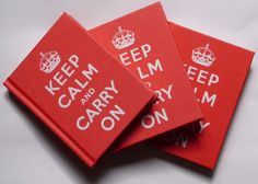 Livro: Keep Calm and Carry On  - Follow The Colours