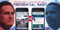 Tanto uno como otro candidato, no olvidaron los smartphones y su gran potencial.