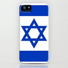 The National flag of the State of Israel iPhone & iPod Case