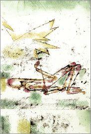 Paul Klee - Durch Blitz 1920 Struck