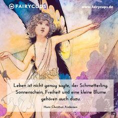 Märchenhafte Zitate von Fairycups