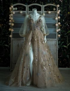 Bridal Dresses, Prom Dresses, Formal Dresses, Tulle Prom Dress, Celestial Wedding, Fantasy Gowns, Fairy Dress, Fairytale Dress, Beautiful Gowns