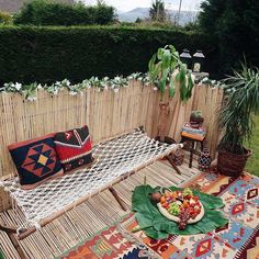 60 Enthralling Bohemian Style Home Decor Ideas: A perfect boho style house decor is possible to create with bright colors rugs, whicker chairs, trendy and stylish cushions, pillows and pouf. Layering of traditional style decor items also brings bohemian culture inside the house.