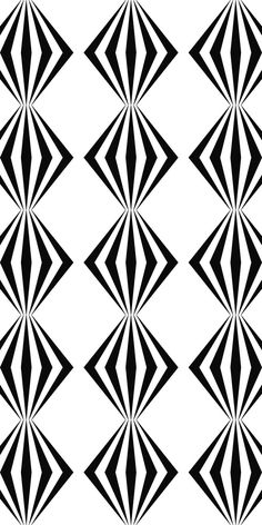 Seamless black and white hexagonal vector star pattern