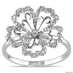 floral diamond engagement ring - My Engagement Ring