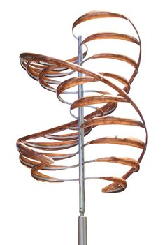 KINETIC DNA  --  Mark White's wind sculptures