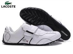 Zapatos Lacoste Hombre RL31 Zapatos Bajas Lacoste Hombre Color Puro Blanco  Con Velcro y Calidad Alta 25817c2f32a