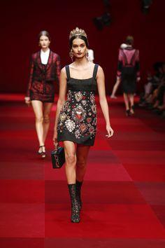 Dolce & Gabbana Gallery Passerella Sfilata Donna – Primavera Estate 2015