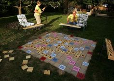 giant lawn Scrabble!!!!!!!!!!!!!!!!!!!!!!!!c Mrs Bronson NEEDS this!!!!
