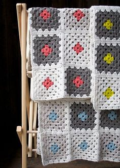 Learn To Crochet A Granny Square Blanket By Purl Soho - Free Crochet Pattern - (ravelry)