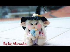 Como fazer bonecas de pano lindas - Parte 2 - Bebê Mimado - YouTube