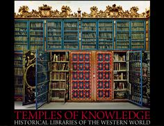 Salamanca University Library, Spain from the limited edition BOOK: Temples of Knowledge: Historical Libraries of the Western World ©  AHMET ERTUG (PhotoArtist, Author). Shop site: http://www.biblio.com/books/245933899.html Photo site: http://www.templesofknowledge.com/ [Do not remove caption. The law requires you to credit the photographer. Link directly to his website.]  The Golden Rule: http://www.pinterest.com/pin/86975836527744374/