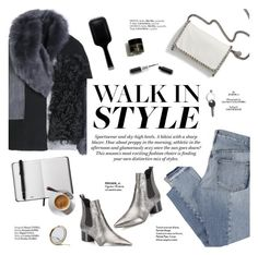 """""""Walk in style"""" by honestlyjovana ❤ liked on Polyvore featuring Acne Studios, Kendall + Kylie, Mix Nouveau, STELLA McCARTNEY, H&M, Henri Bendel, Maison Margiela, GHD, Haute Hippie and chelseaboots"""