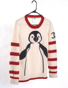 Peachtree & Bennett — Chanel - wool 'Penguin' sweater ($200-500) - Svpply