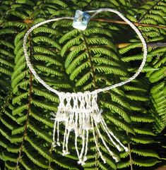 Flax Weaving - Muka necklace, by AllFlax Flax Weaving, Weaving Art, Flax Flowers, Projects To Try, Beads, Wall Hangings, Kit, Inspired, Book
