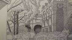 #lyon #Architecture #ArchitecturalHeritage #Sketch #bellecourecole