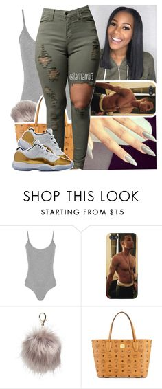 """you're one for the money. and im two for the show"" by lamamig ❤ liked on Polyvore featuring WearAll, Nila Anthony and MCM"