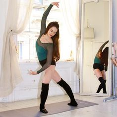 Ballet beautiful workout: Core and Back: Standing Abs