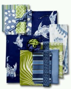 KOI POND Fabric Collection ... Calico Corners