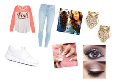 """""""Untitled #144"""" by sirionnaw on Polyvore featuring Paige Denim, NIKE and Kate Spade"""