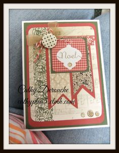 Yuletide papers from Close To My Heart