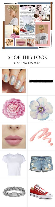 """Kai // Lucky One"" by chensation7 ❤ liked on Polyvore featuring Été Swim, Ballard Designs, Chantecaille, RE/DONE, John Hardy, Converse, kpop, EXO, exok and kai"