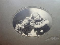 There Were 3 Sisters  Antique Photograph from the by andieamour, $15.00
