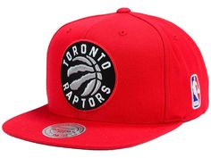 d0580a10ac Toronto Raptors Mitchell   Ness NBA XL Logo Snapback Cap