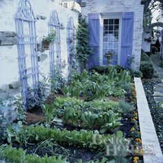 would love to have this potager garden