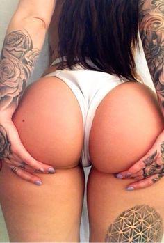 #Belfie #Tattoo #BigAss #Girl  @Gromec