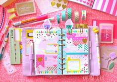 Planner Ideas and Accessories   Easter Color - 1 Week April