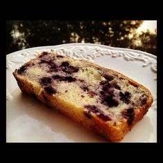 Lemon Blueberry Sweet Bread | Basilmomma