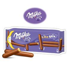 Tests produits et échantillons - Milka Lila Stix - Ma vie en couleurs