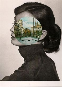 Venice meets Audrey Hepburn in this splendidly surrealist collage by John Stezaker Collages, Collage Artists, Photography Collage, Photography Projects, Fashion Photography, Photomontage, John Stezaker, Surrealist Collage, Pop Art