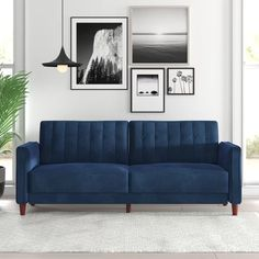 Consider this sleeper sofa small-space approved. Perfect for sitting, lounging, and sleeping, it packs in Small Sleeper Sofa, Small Sofa, Sleeper Sofas, Modern Sofa, All Modern, Modern Furniture, Modern Contemporary, Furniture Design, Furniture Decor