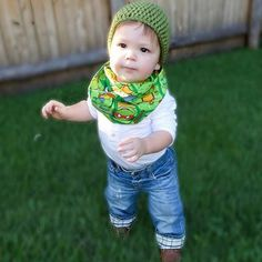 TMNT Infinity scarf & Crochet beanie combo! Perfect for winter, are you ready?!