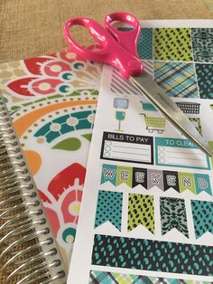 Ink Obsession Designs: Tutorial: How to Print & Make Printable Planner Stickers from PDF Files