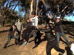 Lecrea and the Mercy Me crew