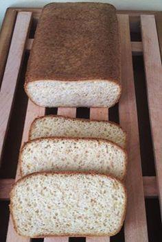 Nyomtasd ki a receptet egy kattintással Protein Bread, Keto Bread, Bread Baking, How To Make Bread, Food To Make, Sin Gluten, Gluten Free Recipes, Healthy Recipes, Healthy Sweets