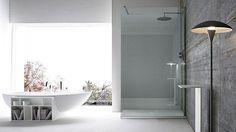 Small bathrooms feel cozy