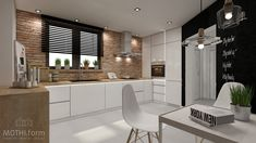 kitchen interior design ~ rustic style on Behance