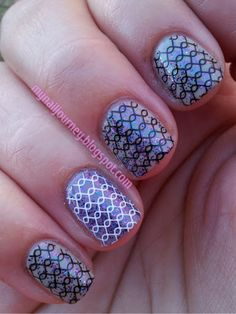 My Nail Journey: AIS: Stamping With Mash Plate 41