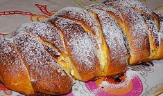 Stříhaná tvarohová vánočka French Toast, Treats, Breakfast, Sweet, Food, Sweet Like Candy, Morning Coffee, Candy, Goodies