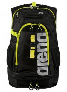 Arena Fastpack 2.1 Rucksack - Black/ Fluo Yellow / Silver