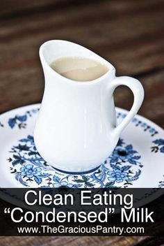 Hmm. Haven't teied yet. Clean Eating Condensed Milk